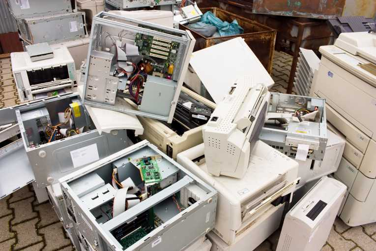 Office Electronic Equipment Disposal Computer Recycling