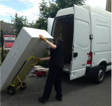 Man with a Van offering House Removals in Mayo