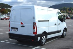 Renault Master medium wheelbase, low roof