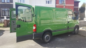 Renault Master - short wheelbase, low roof
