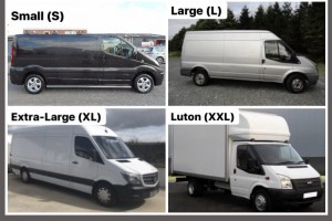 4 Van Sizes for Office Relocation in Dublin