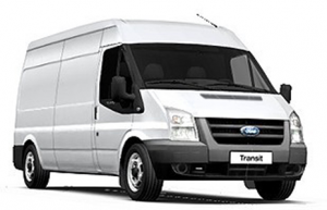 Large Ford Transit for Furniture Removals in Dublin