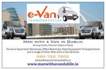 e-Van Transportation Business Card