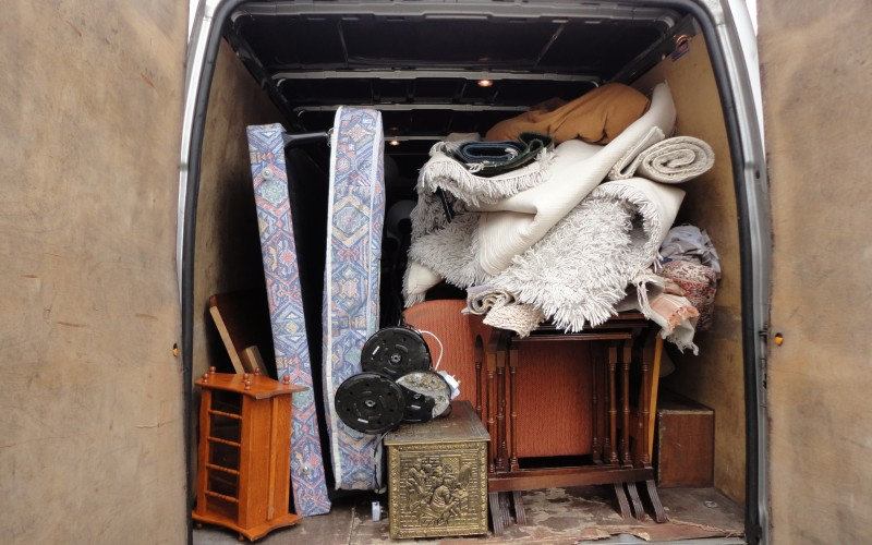 Man with a Van in Dublin with Large Van offering transport of household goods, furniture and beds
