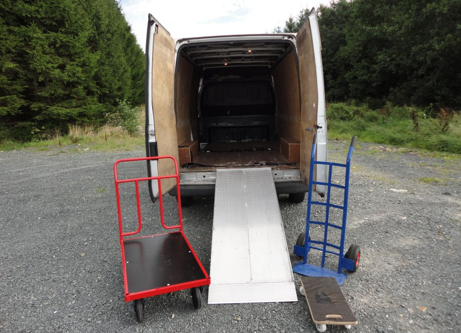 My Van, Ramp and 3 Types of Trolley