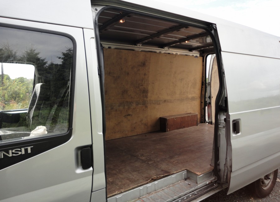 Large Van for Home Removals in Dublin - Side-Door View