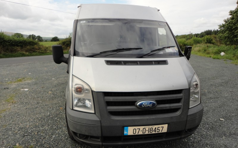 My Van - Front Angled View