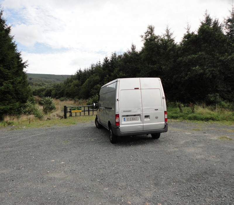 My Van - Not Small... Just Far Away (back-left corner view)