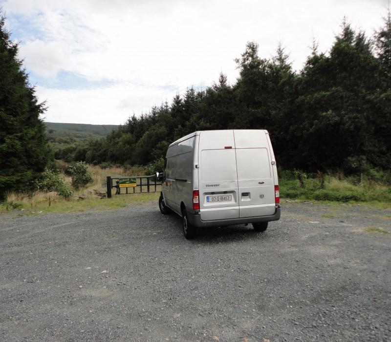 My Van - Not Small... Just Far Away (back-left corner view)