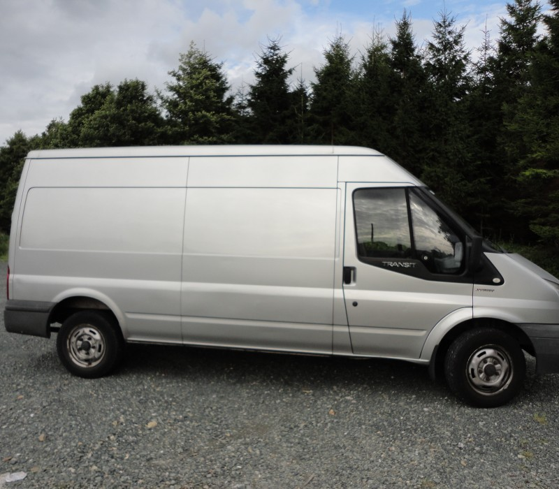 Ford Transit - Long Wheelbase, Medium-High Roof
