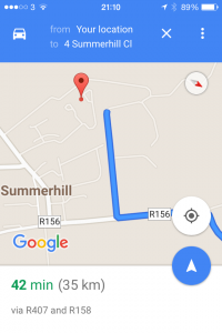 Google Maps Route to Location Marker Issues