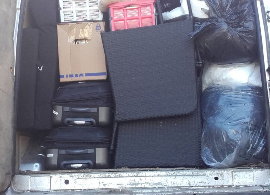 Man with a Van in Dublin with Large Van with years experience in maximising space usage