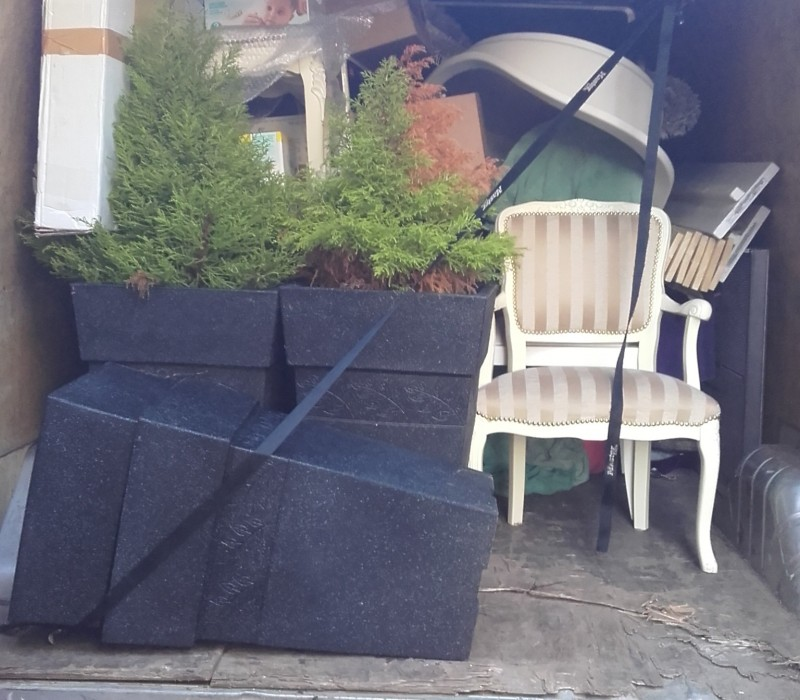 Man with a Van in Dublin with Large Van offering transport of garden furniture and other items