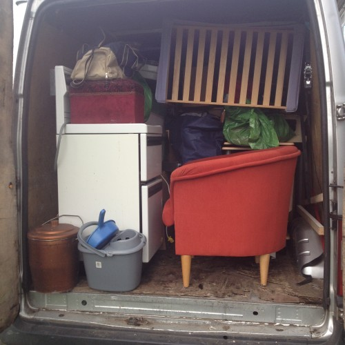 Man with a Van in Ireland with Large Van offering transport of home furniture