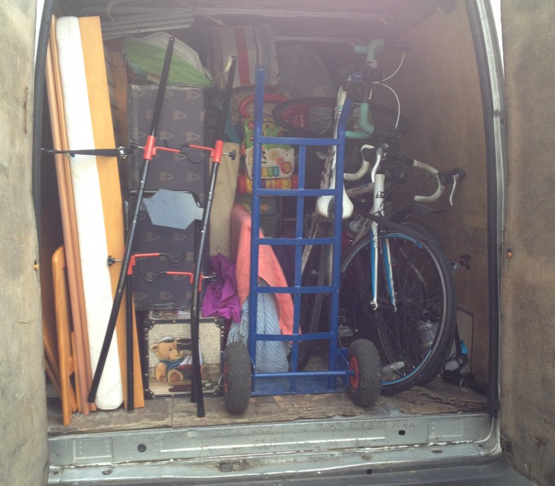 Man with a Van in Dublin offering transport of various goods and equipment