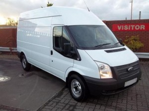 Large Ford Transit for Office Removals in Cork