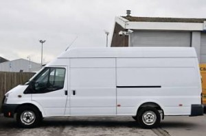 Extra-Large Ford Transit Van for Office Removals in Waterford