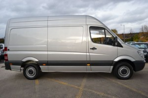 Large Mercedes Sprinter for Office Removals in Galway