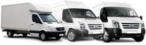 Various Sizes of Vans available for different sized home and office moves
