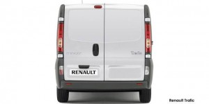 Small but spacious van for furniture couier service