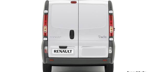 Renault Trafic - Rearview