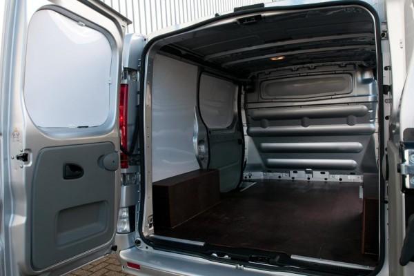 Small Van Inside