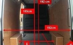 Mercedes Sprinter Internal Dimensions