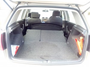 Spacious Car Boot with Fold Down Seats