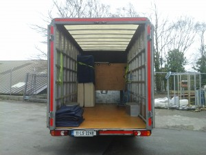 Man with a Van Dublin Larger Office Relocation Services Box-Body Van