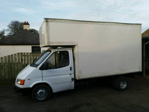Ford Transit Luton for Large Office Removals in the Irish Midlands