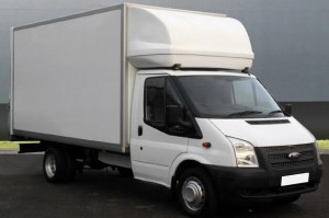Luton Box-Body Van for large aparment and house moves and large office moves