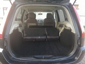 Car Van - Inside Capacity