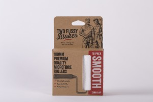 Two Fussy Blokes MICROFIBRE 100mm (4 inch) - 5mm Paint Rollers