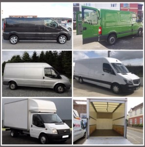 5 Van Sizes and Inside the Luton Van for long-distance moving services from Dublin to Athlone