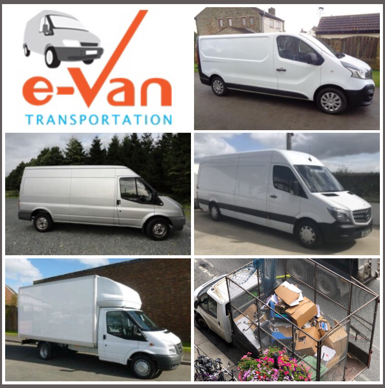 4 Van Sizes for Moving Services and a Dedicated Van for Disposals