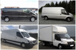 Vans for Small, Medium and Large Office Relocation in Dublin