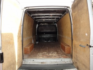 Capacity of Large Van for Sofa Collection and Delivery