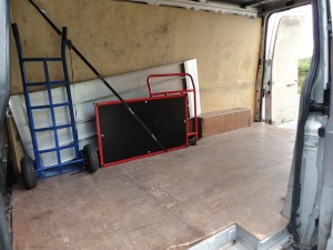 Moving Equipment for Office Removals: Trolleys, Ramp and Ratchet Straps