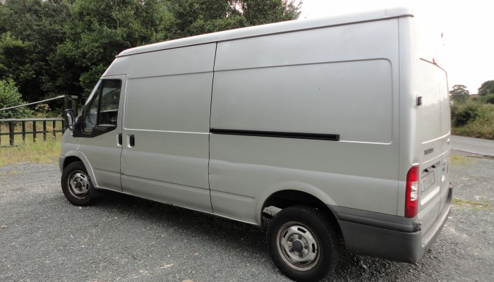 Man with a Van Company in Dublin with Large Ford Transit Van