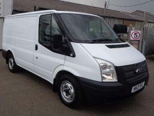 Ford Transit - short wheelbase, low roof