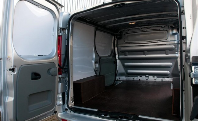 Small Van Inside - for low-cost long-distance moves
