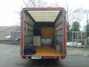 Box-Back Van - Inside