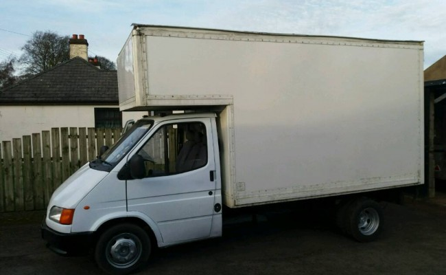 Luton Van for Furniture Removals