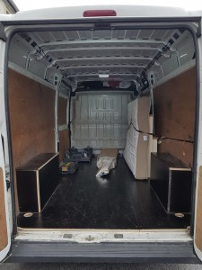 Loading Area - Fiat Ducato for House Removals in Kilkenny