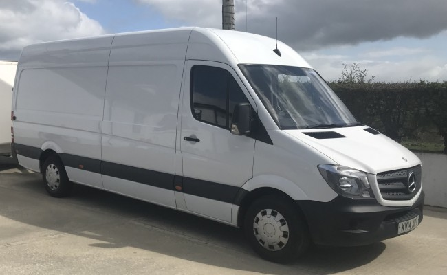 Extra-Large Van for Medium to Large Office Removals