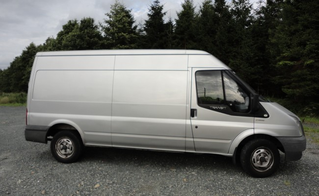 Large Van for Small to Medium-Sized Office Removals