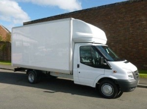 Luton Box-Body Van for Antrim House Removals and Office Removals