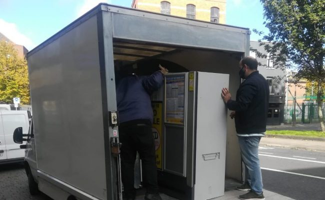 Loading Up a Luton Van for a Home Move