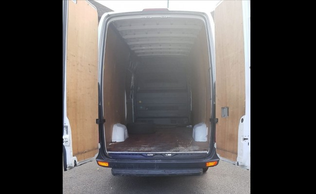 Extra-Large Van for Furniture Removals - Loading Area