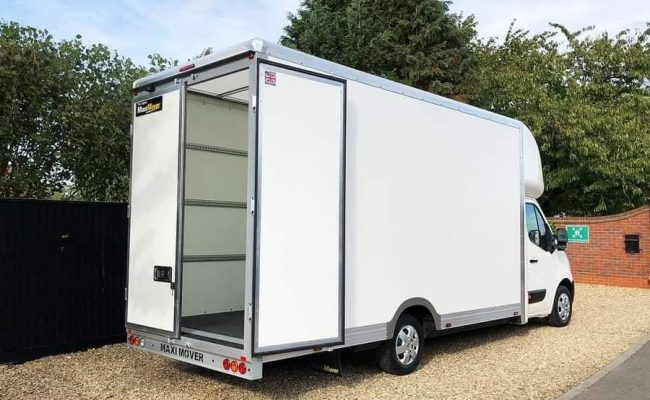 MaxiMover - Very Large Box-Body Van for Big House Moves